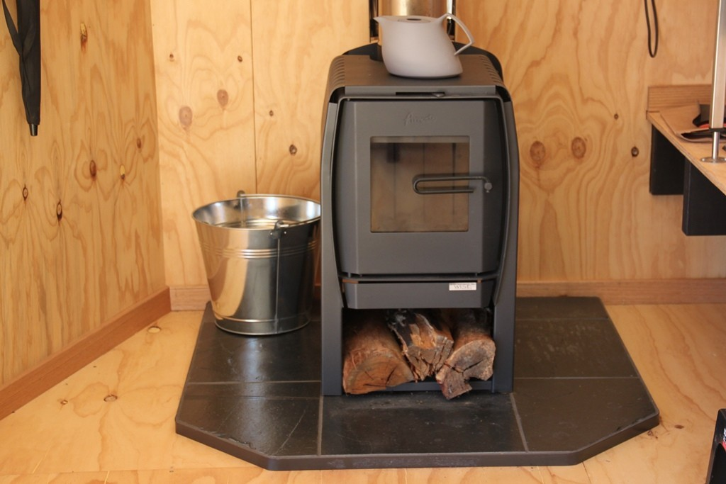 Wood burning heater - stove