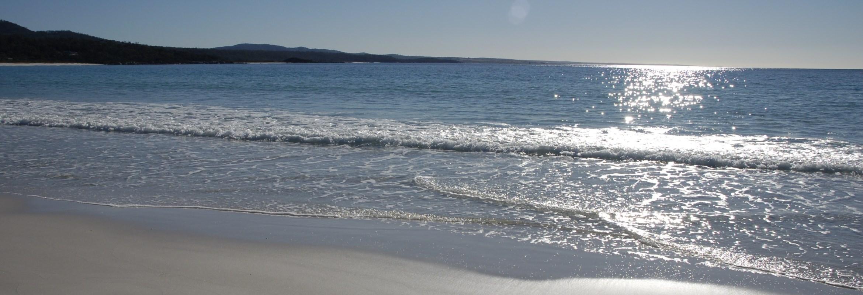 Slider of main beach
